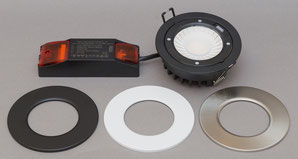 Downlight 12Watt dimmbar 3000K 4000K dim2warm warmdimming