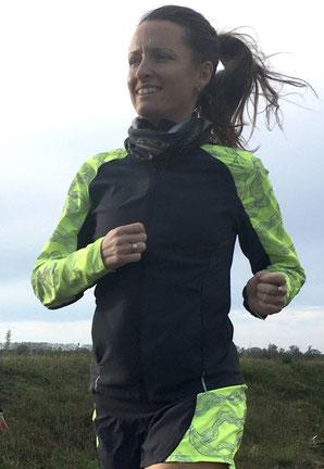 Frauke Neumann will eventuell ihren zweiten Marathon laufen