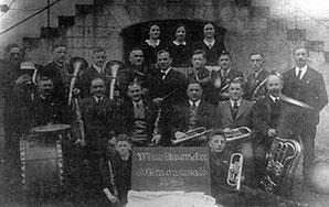 Der Musikverein im Jahr 1940