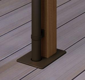 LIXIL デッキイン接続用柱カバー