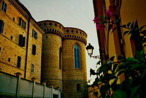 die äussere Befestigungs-Mauer von Loreto