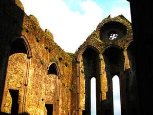 das dreigliedrige Querschiff der Cormac Chapel