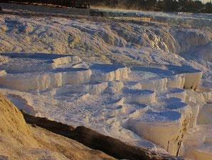 バッカレムの石灰棚の写真