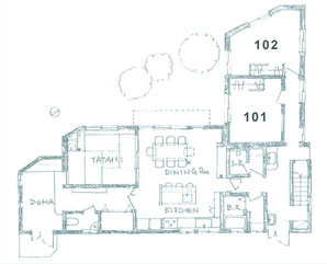 1階 共有部+個室
