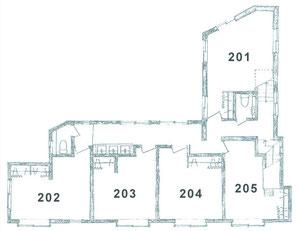 2階 個室&洗面トイレ