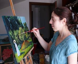 L'ARTISTA MARIA VITTORIA ROSATI