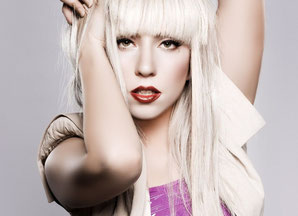 Lady Gaga, Mercure carré Uranus, maisons X-VI