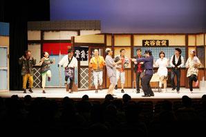 ▲リーダースカレッジの舞台発表会