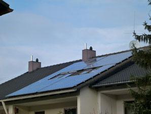 Kleine Photovoltaik Solar Anlage