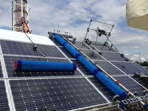 Solarmodul Reinigung Profi Ausrüstung