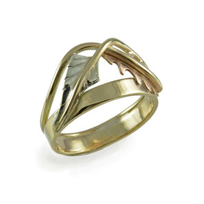 Fern & Oak Ring - 9ct Gold