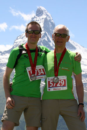 v.l.n.r.: Thorsten Kiehl & Werner Kiehl