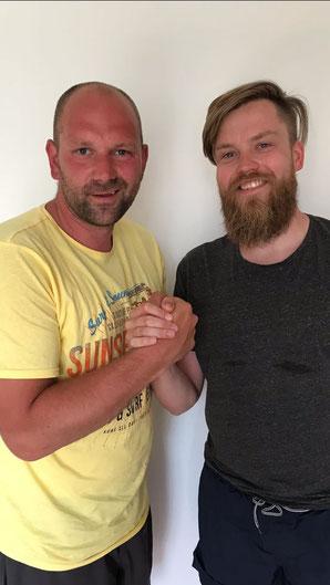 Matthias Voss (li.) und Mario Ulferts (re.)
