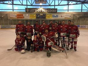 Die Canadiens aus dem Emmental, Sieger des Turniers 2017