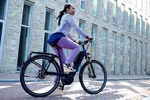 City e-Bikes von blueLABEL und Riese & Müller
