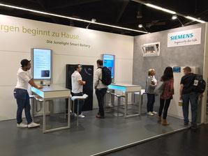 Consumenta 2019 Siemens Speicher