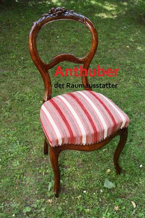 Bild: Wir verkaufen einen  Stuhl  Louis-seize (ca. 1710 - 1740)