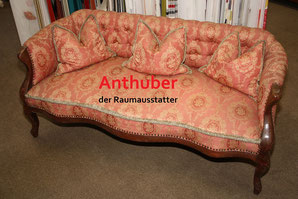 Bild: Wir verkaufen Omas Couch, diese befindet sich in unrestaurierten,  wenig gebrauchten Zustand