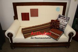 Bild: Alte Couch um 1900, komplett neu aufgepolstert zu verkaufen