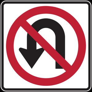 Wenden Richtung 90 Kilo verboten