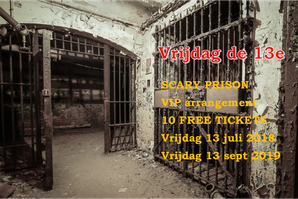 Gratis Tickets Scary Prison Blokhuispoort