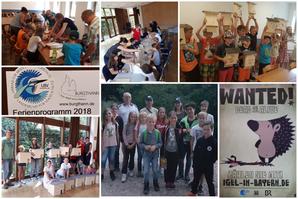 Impressionen vom Ferienprogramm (Bilder: Tanja Kuhn)
