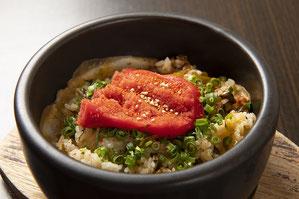石焼き高菜めんたい焼飯