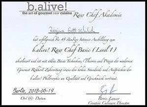 b.alive Raw Chef Basic