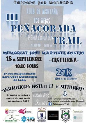 III PEÑACORADA TRAIL - Cistierna, 18-09-2016