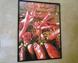 tableau dans la chambre d'hotes paprika au riad, maison d'hotes le Jardin des Epices à Taroudant, Maroc