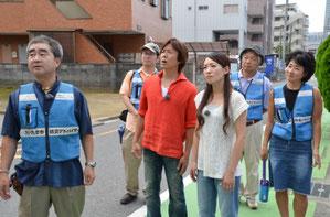 弘道おにいさんたちと撮影での1コマ