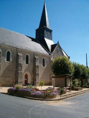 L'église de St Christophe-en-Bazelle