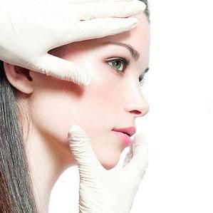 pflege der Haut, untersuchen von der Haut, Festlegung von der Pflege