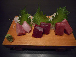 Assorterd 3 Kinds of Tuna 2,980 yen