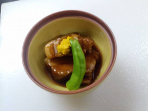 Braised Pork in Nagasaki Style 850 yen