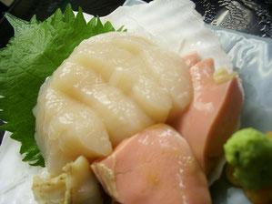 Scallop Sashimi 990 yen