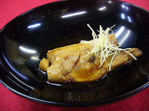 Simmered Atka Mackerel 2,200 yen