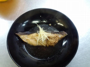 Simmered Flatfish 1,380 yen