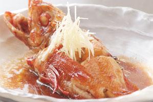 Simmered Kinki Fish   7,700 yen