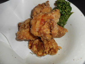Fried Chicken 450 yen