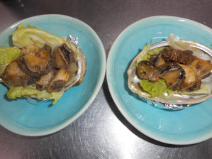 Broiled Abalone with Butter 100g 2,900 yen