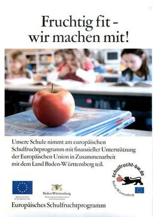 Europäisches Schulfruchtprogramm.