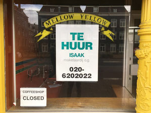 coffeeshop mellow yellow for rent