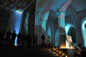 """Auch die Gestaltung der """"Langen Nacht der Kirchen"""" ..."""