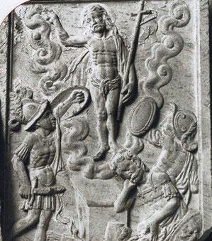 Reliefplatte aus dem 16. Jahrhundert