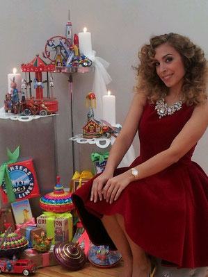 Gisela, cantante, juguetes, El Laberinto