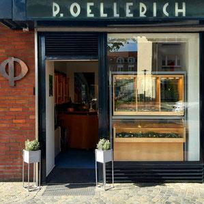 Goldschmiede P. Oellerich in der Fährstraße 1, Bremerhaven-Mitte