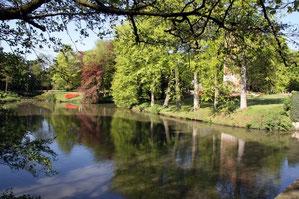 Fahrt zum Kastell Groot Bijgarden/ Belgien