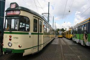 Fahrt mit der Historischen Straßenbahn quer durchs Ruhrgebiet