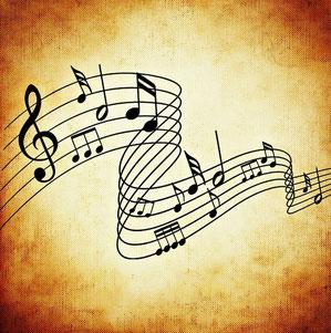 Notes de musique pour les voeux 2020 de l'UCAL 79